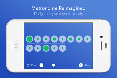 Grooveloop – Visual Metronome - náhled