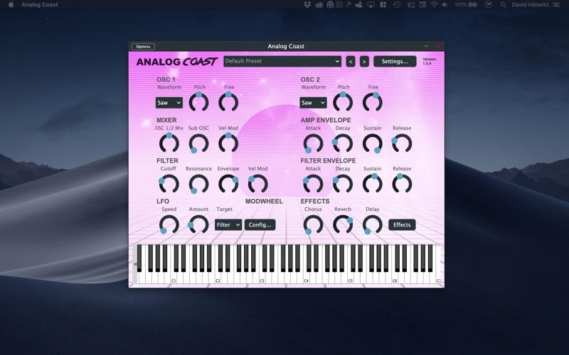 Analog Coast (Audio Unit) for Mac