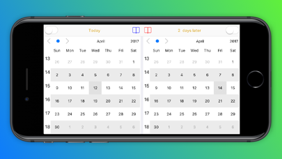 Dual Calendar - CalendarX2 Screenshots