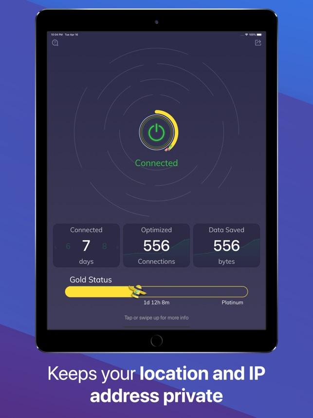 Luna — Best VPN for iPhone Screenshot