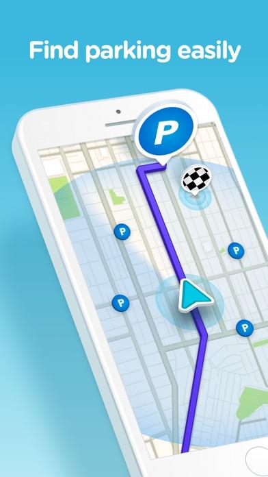 Screenshot for Waze GPS & κυκλοφορία ζωντανά in Greece App Store