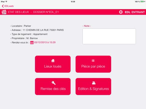 EDL WEB 2 - Etat des Lieux - náhled
