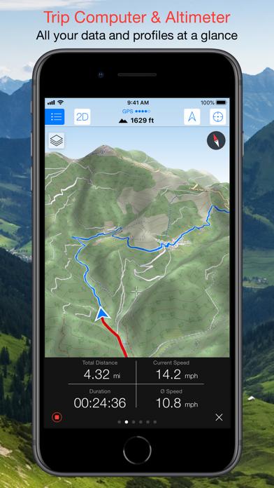 Maps 3D PRO - Outdoor GPS Screenshots