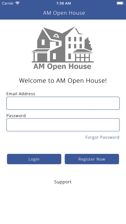 AM Open House - Open House App