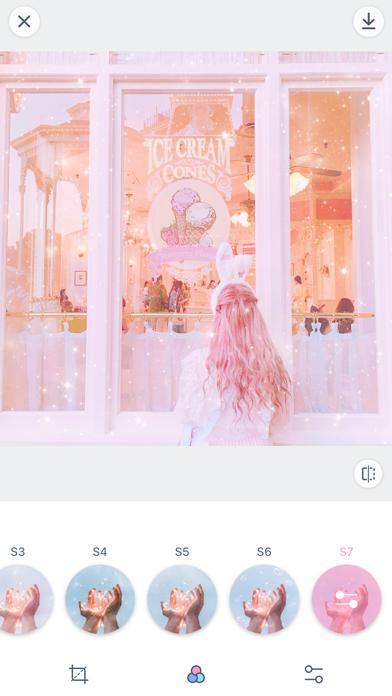 PinksCam少女心滤镜のおすすめ画像1
