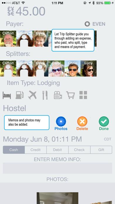 Trip Splitter review screenshots