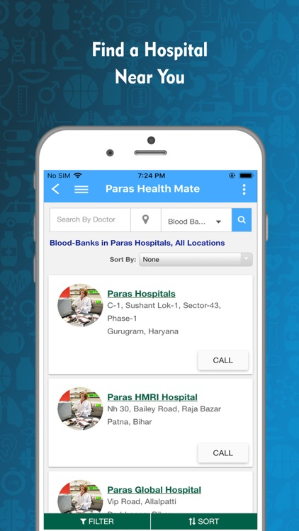 Paras Health Mate screenshot-2