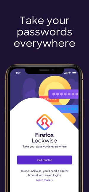 Firefox Lockwise on the App Store