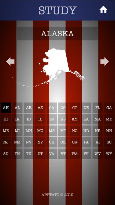 US States Test screenshot four