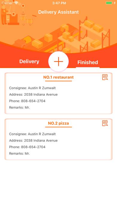 Delivery Assistant-Statistics screenshot 5