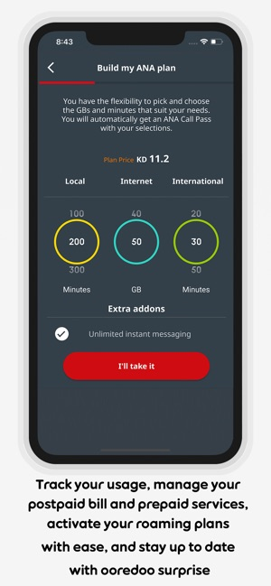My Ooredoo Kuwait on the App Store