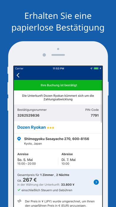 Screenshot for Booking.com-Reisedeals in Germany App Store