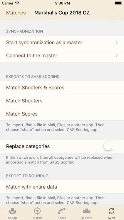 CAS Scoring screenshot-7