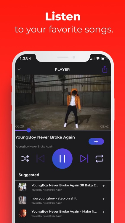 iMusic - Player for youtube screenshot-2