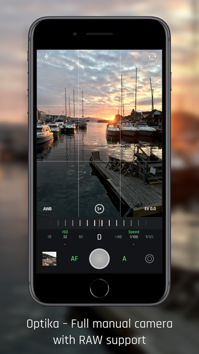 Optika – Manual Camera Screenshots