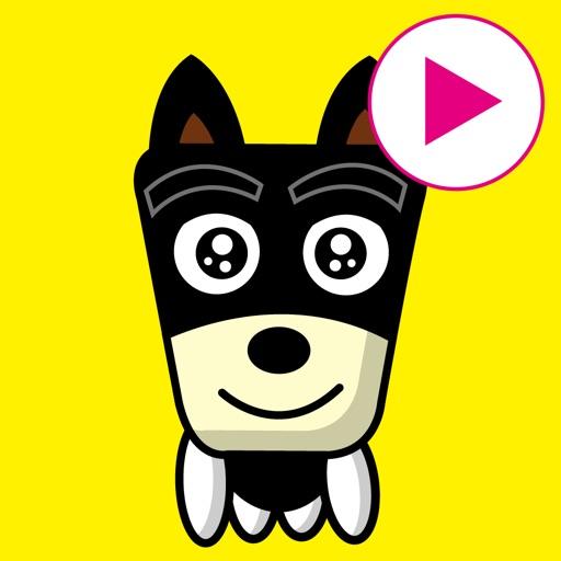 TF-Dog Animation 9 Stickers