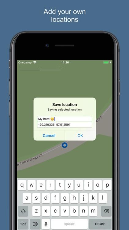 Mauritius 2020 — offline map screenshot-3
