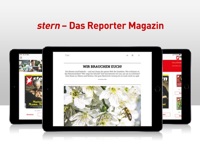 stern - Das Reporter-Magazin Screenshot