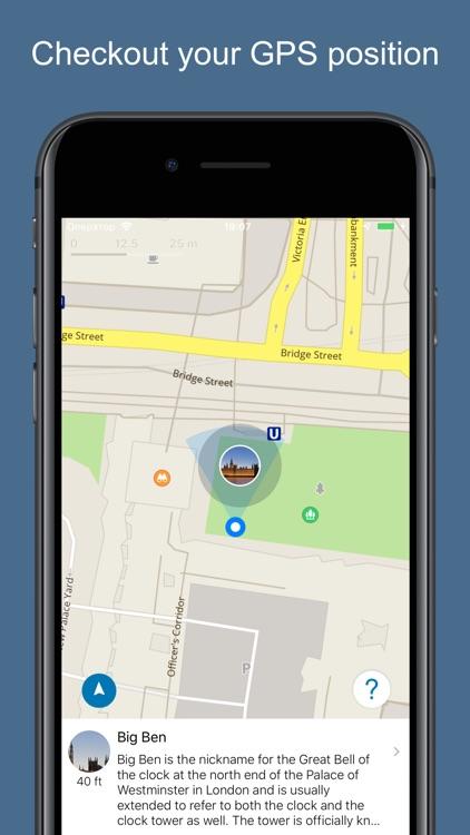 London 2020 — offline map screenshot-3