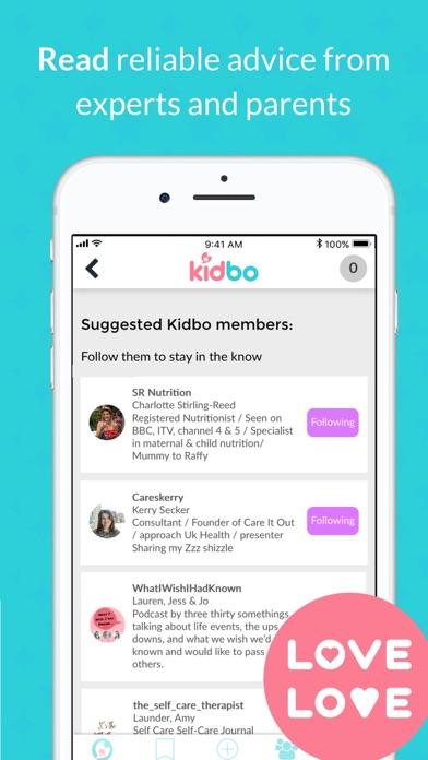 Kidbo - The Art of Parenting screenshot three