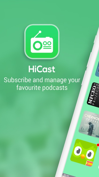 HiCast: Podcast Player screenshot-0