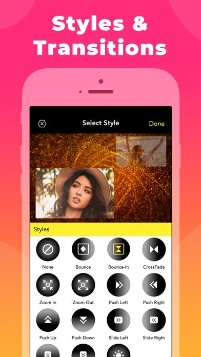 Slideshow maker with music screenshot three