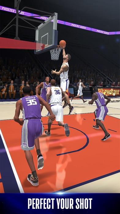 NBA NOW Mobile Basketball Game screenshot 2