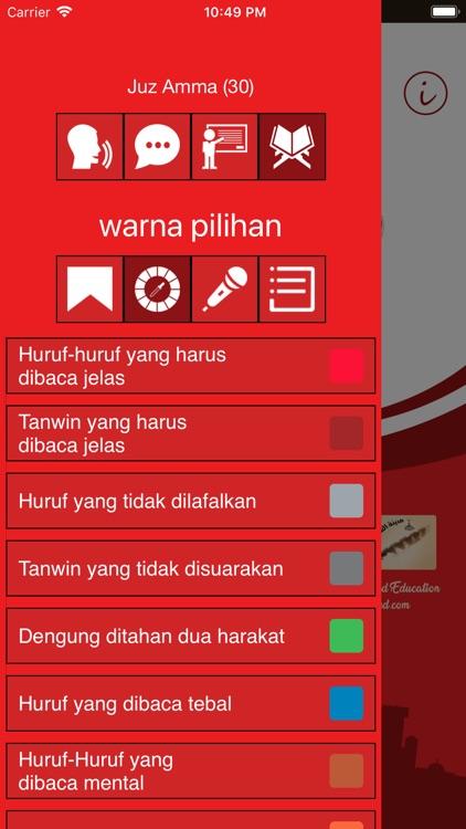 Learn Arabic- Juz' Amma Indo screenshot-3