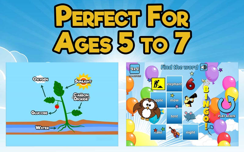 First Grade Learning Games screenshot 3