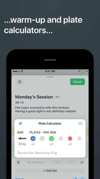 Strong Workout Tracker Gym Log-2