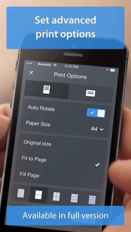 Printer Pro Lite by Readdle