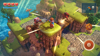 Screenshot from Oceanhorn ™