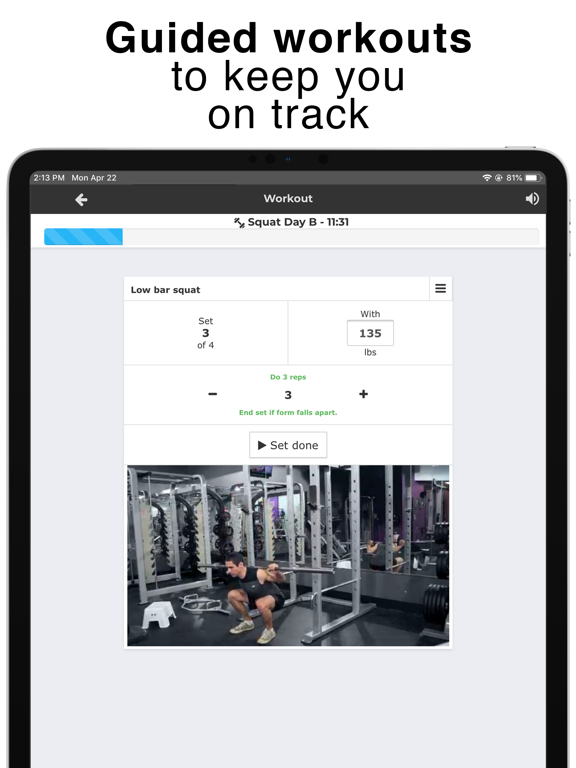SF Meal & Workout Planner by Strongr Fastr LLC (iOS, United