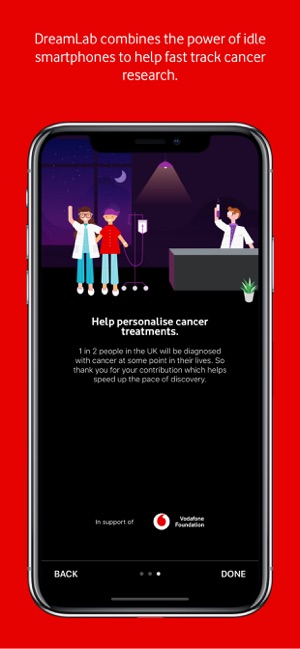 DreamLab: Help To Fight Cancer on the App Store