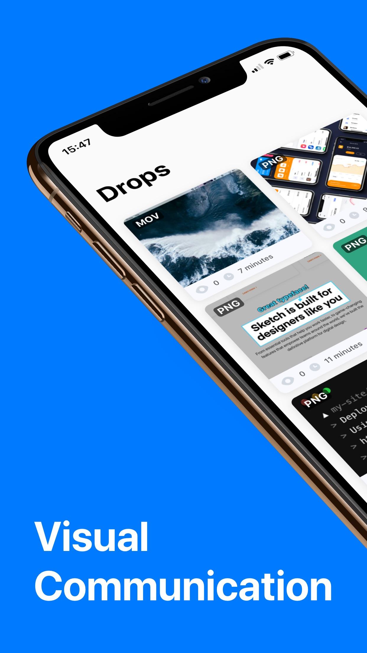 Screenshot do app CloudApp - Screen Capture