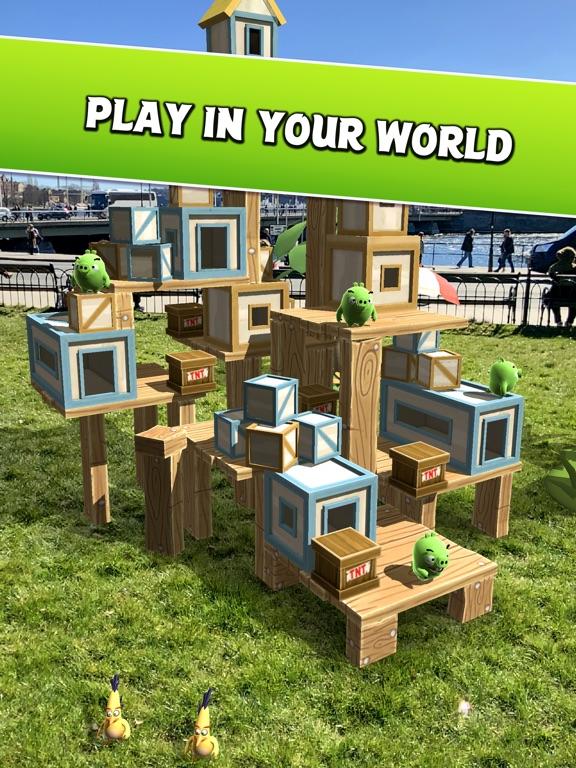 Angry Birds AR: Isle of Pigs screenshot 8