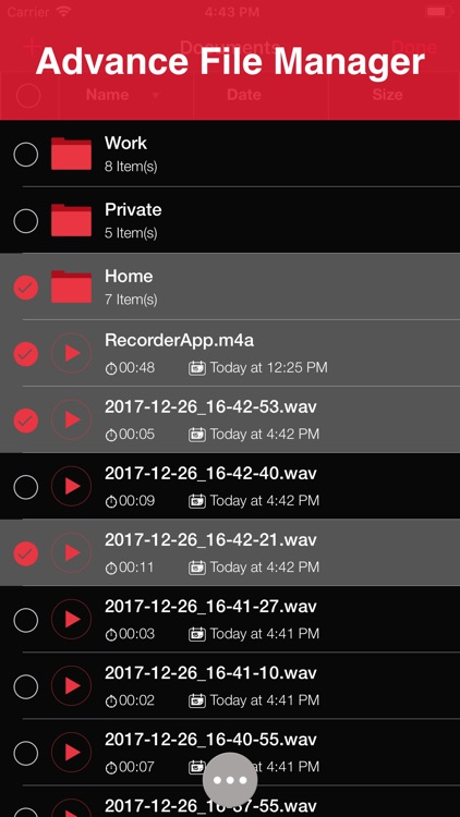 Recorder App: Voice Recorder screenshot-3