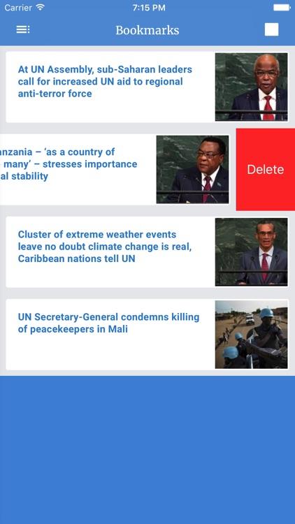 UN News Reader screenshot-4
