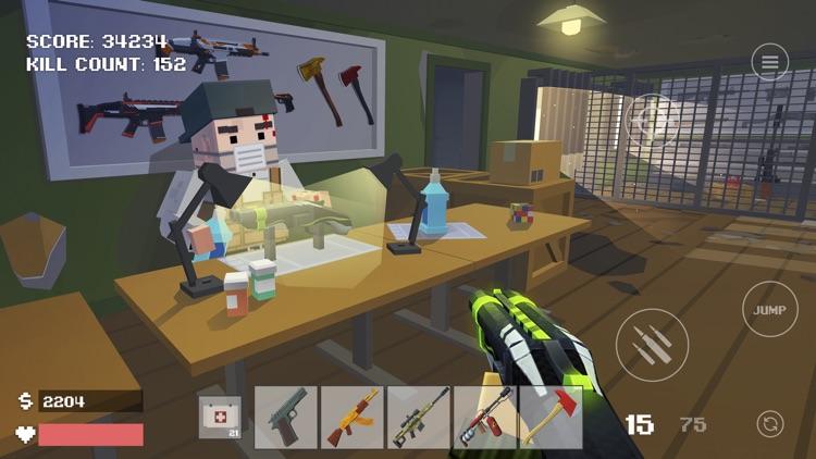 Pixel Combat: Zombies Strike screenshot-0
