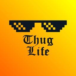 Thug Life Photo Sticker + Emo