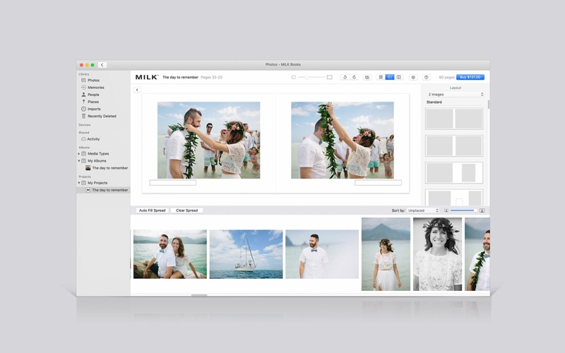 MILK Handcrafted Photo Books for Mac
