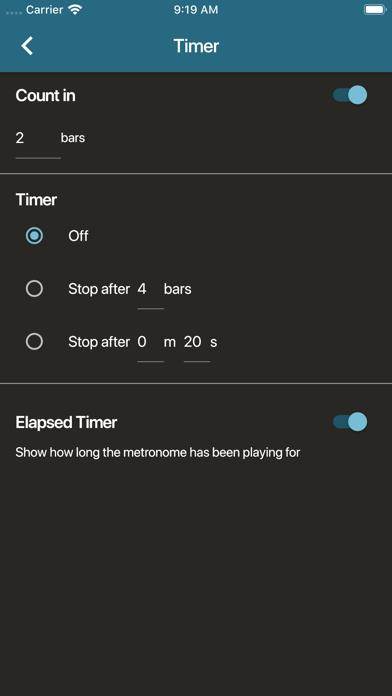 Screen Shot Metronome Beats 3