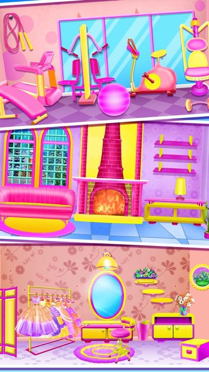 Baby Girls - Doll House Games screenshot-4