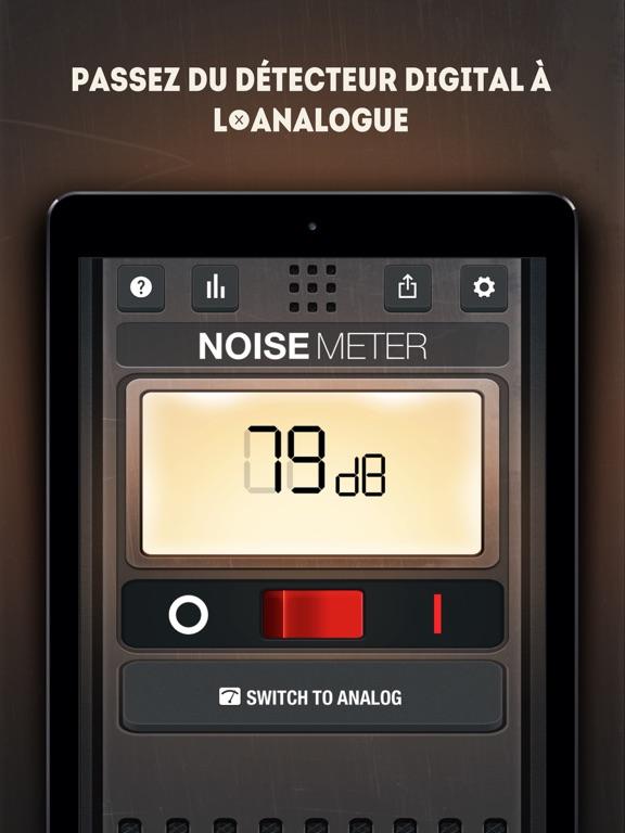 Screenshot #6 pour Sonomètre - Mesure Décibel
