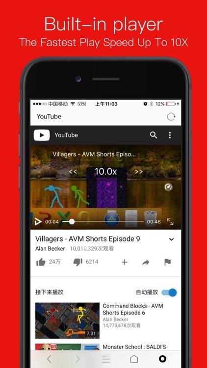 RBrowser - Multi-Tabs Browser screenshot-4