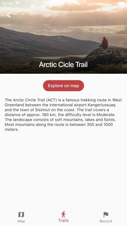 Greenland GPS screenshot-3