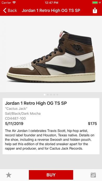 Screenshot for J23 - Release Dates & Restocks in United States App Store