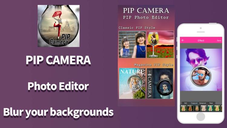 PIP Camera Selfie Photo Editor