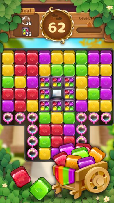 Jewels Garden : Blast Puzzle screenshot 5