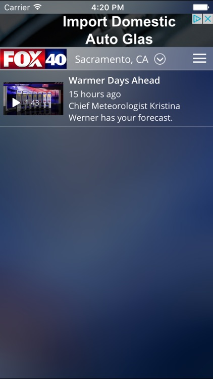 FOX 40 Sacramento Weather screenshot-4